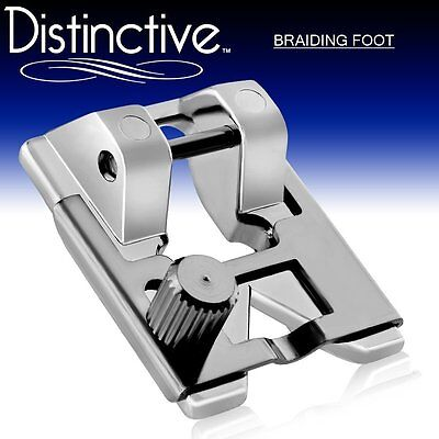 Distinctive Braiding Sewing Machine Presser Foot with Free Shipping