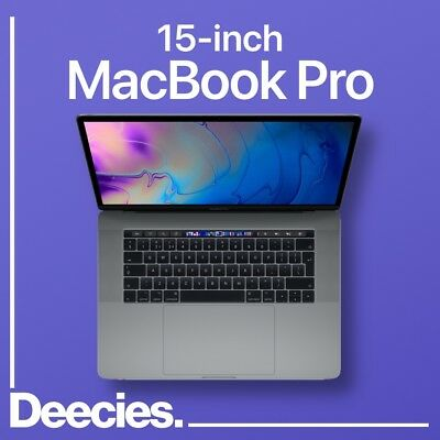 15-inch Apple Retina MacBook Pro Touch Bar 2.9ghz 6-core i9 32gb 512GB Vega 20