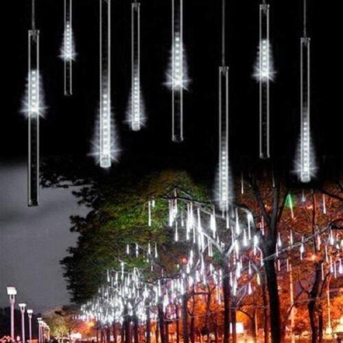 Solar Meteor Shower Lights Solar Waterproof Light String Garden Outdoor Decor