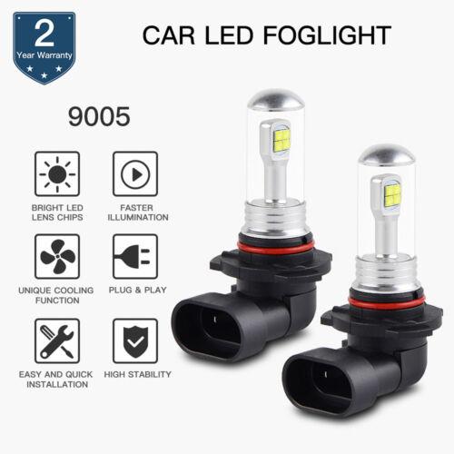 9005 HB3 Car LED Light Fog Lamp Bubls Cree XBD Chip Off Road Light DRL 6500K 80W