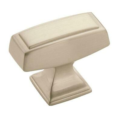 Amerock Mulholland 1-1/2 in (38 mm) Length Satin Nickel Cabinet Knob Amerock Mulholland Cabinet Knob