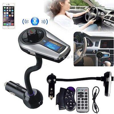 Car Kit MP3 Player Wireless Bluetooth FM Transmitter Modulator USB SD LCD Remote on Rummage