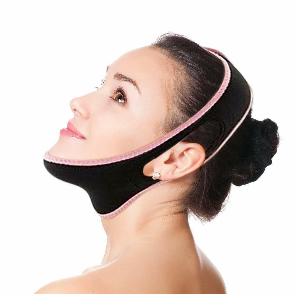 Facial Slimming Strap Chin Lift Facial Mask Eliminates Saggi