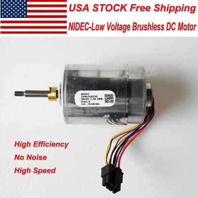 Us Stock Nidec Dc12v18v24v 18w High Speed Dual Ball Bearing Brushless Dc Motor