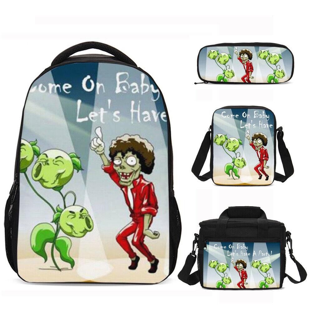 Super Mario Kid/'s SchoolBag Blue Backpack Lunch Bag Cross Body Pencil Case Lot