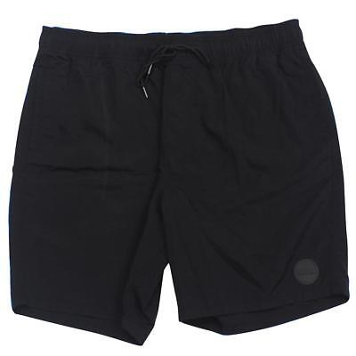 Jet Nylon Shorts (Oakley FP DEFENDER Shorts Jet Black 36 XL Mens Casual Boardshort Beach Short)