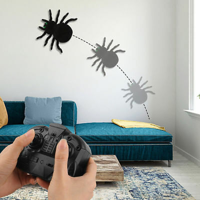 Remote Control Fake Spider Rc Prank Toys Insects Joke Scary Trick Bugs For Party