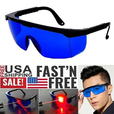 Professional Protective Goggles Laser Safety Glasses For He-ne Laser Red Laser