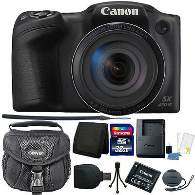 Canon PowerShot SX420 IS 20MP WiFi / NFC Enabled 42X Optical Zoom Digital (Canon Wifi)