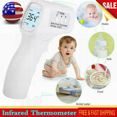 Non-contact Lcd Digital Infrared Thermometer Forehead Human Body Temperature Gun