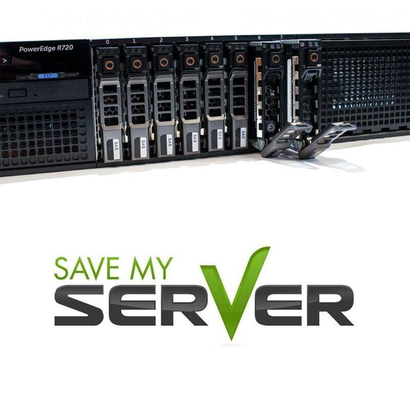 Dell PowerEdge R720 Server | 2x E5-2667 2.9GHz =12-Cores | 128GB | 2x 300GB