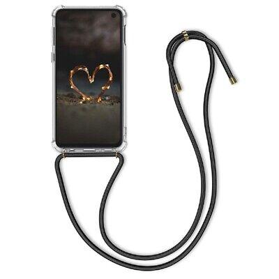 Huawei P40 Lite E Handy Hülle Band Handykette Kordel Schnur Umhängetasche Case