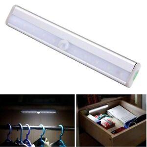 Inalambrico-Sensor-de-Movimiento-PIR-10-LED-funciona-con-pilas-Cajon-BRILLO