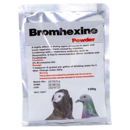 Bromhexine Powder - 100 gr ( Exp- 2022)