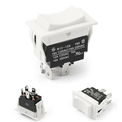 Momentary Rocker Switch For Polarity Reversing Dc Motor Control On Off On