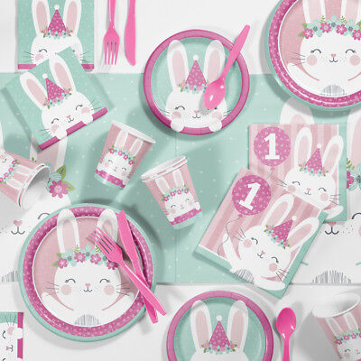 Bunny Birthday (Bunny Party 1st Birthday Party Supplies)
