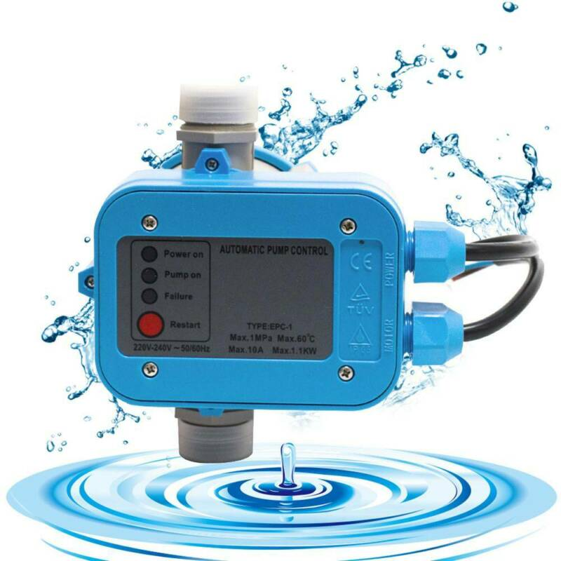 Pumpensteuerung Pumpe Druckschalter für Hauswasserwerk Automatik Pumpenschalter