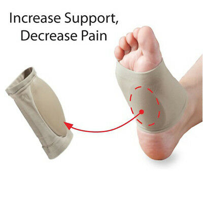 1 Pair Pain Relief Plantar Fasciitis Insole Pad & Arch Support Shoes Insert GP3