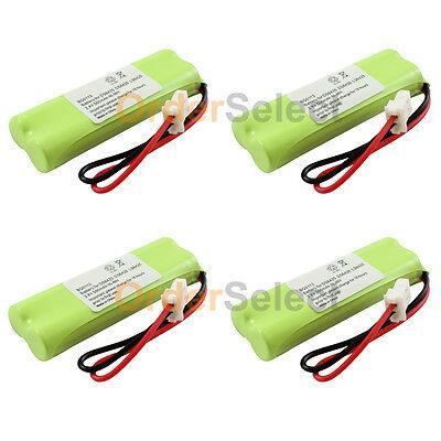 4x Cordless Home Phone Battery for VTech BT183482 BT283482 DS6401 DS6421 DS6422