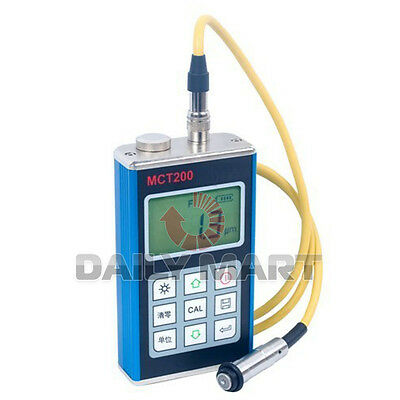 Mct200 Digital Coating Film Thickness Meter Gauge Auto Paint Tester Fe Type