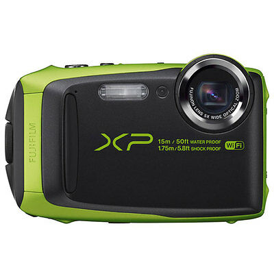 Fujifilm FinePix XP90 Shock & Waterproof HD Wi-Fi Digital Camera Lime