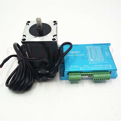 Closed Loop Stepper Motor Nema23 3nm Hybrid Servo Driver Hbs5757hbs30 Us Stock