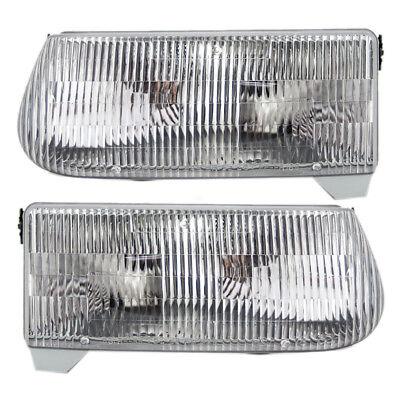 - 1997 Mercury Mountaineer 1995-2001 Ford Explorer Set of Headlights
