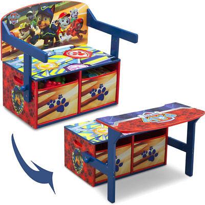 Paw Patrol Sitzbank Spielzeugkiste Kindermöbel Schreibtisch Kinderbank Kinder