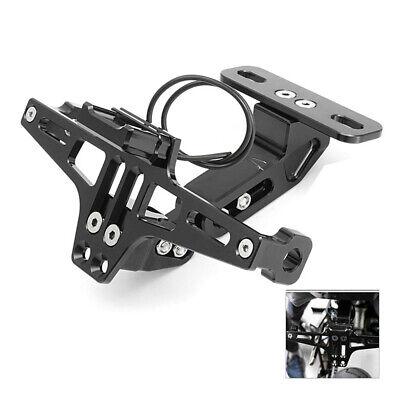 ADJUSTABLE MOTORCYCLE NUMBER PLATE HOLDER BRACKET FOR <em>YAMAHA</em> BWS R25 R