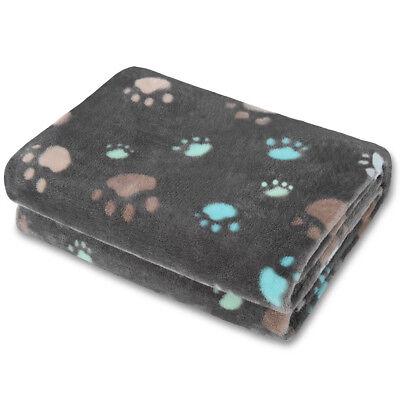 Allisandro Super Soft and Fluffy Premium Flannel Fleece Dog Throw Blanket NEW