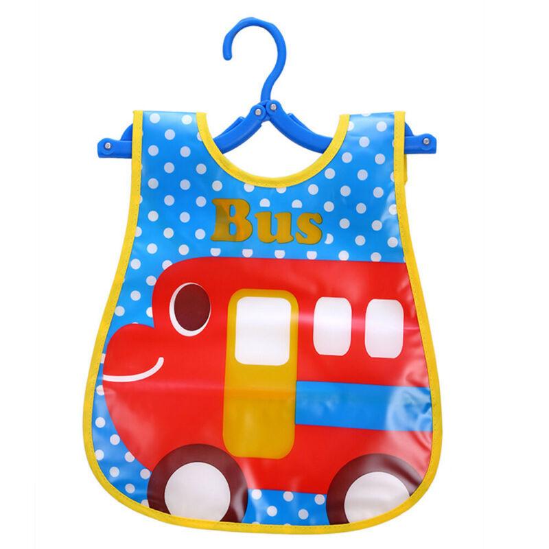 Newborn Cute Kids Bibs Baby Soft Cartoon Bib Toddler Waterproof Saliva Dripping P
