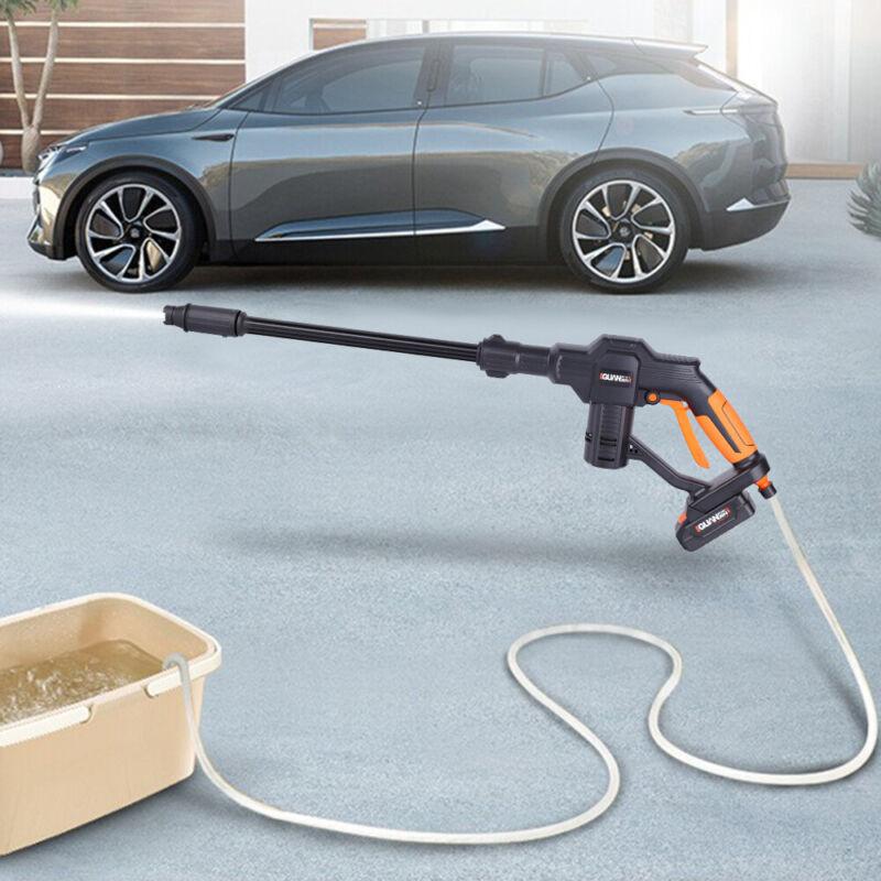 Car Wash Pump Pressure Cleaner Washing Spray Gun Cordless Portable 130PSI 12V