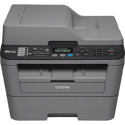 Brother Compact All In One Wireless Laser Printer Copy Scan Fax   Mfc L2700dw