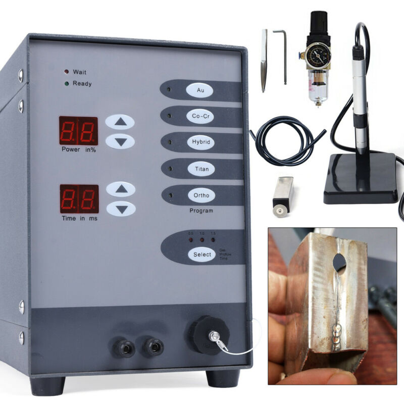 Pulse Argon Jewelry Spot Welder ARC Laser Welding Machine for Necklace Silver
