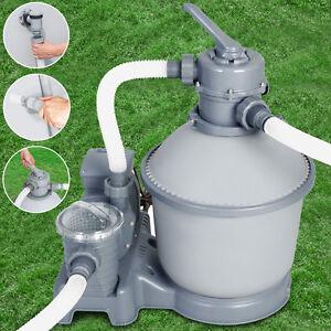 Sandfilteranlage bestway pflege zubeh r ebay - Bestway pool mit sandfilteranlage ...