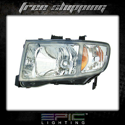 Fits 2006-08 Honda Ridgeline Pickup Headlights Headlamps Left Driver Only