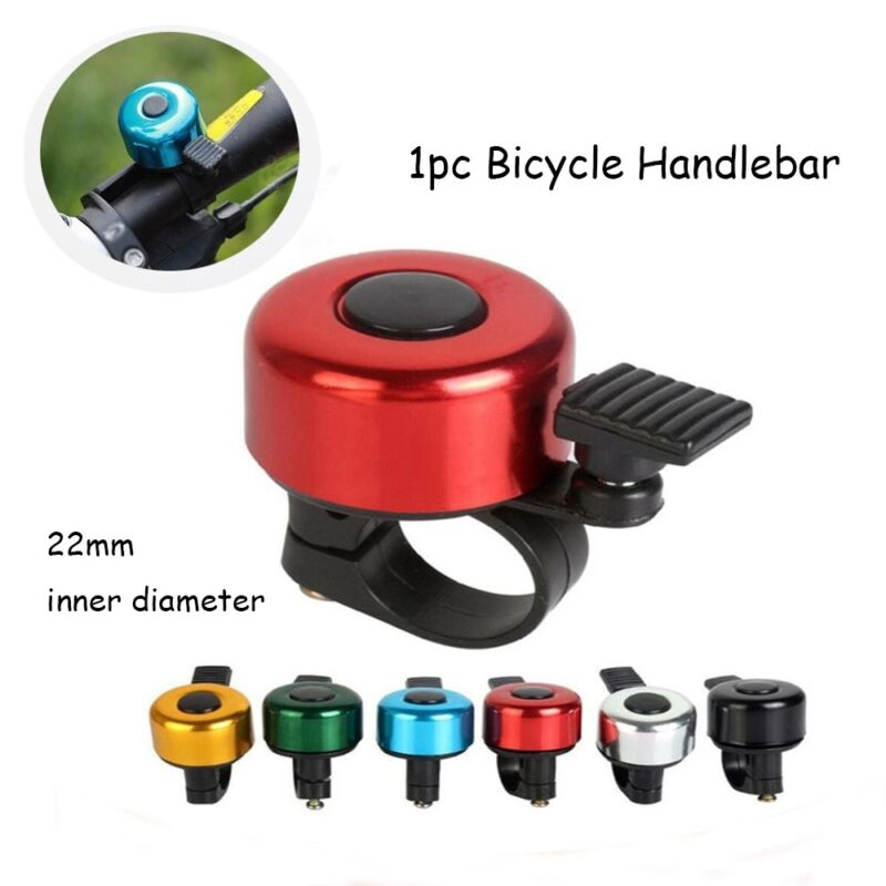Rings Horn Sound Alarm Metal Ring Cycling Bicycle Handlebar  Safety Bike Bell