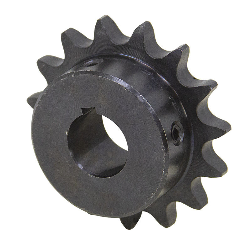"16 Tooth 5/8"" Bore 40 Pitch Roller Chain Sprocket 40BS16H-5/8 1-2123-16-B"