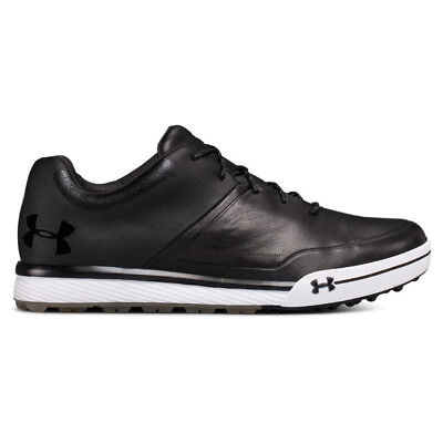NEW Mens Under Armour Tempo Hybrid 2 Golf Shoes Black / Steel-Pick Size