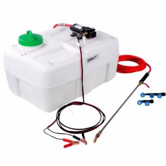 Weed Sprayer 12v 50 Litre Tank 6M Hose with Lance & 3 Nozzles