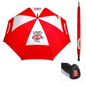 e1aef6611f06 Team Golf NCAA Umbrella 23969 Wisconsin Badgers