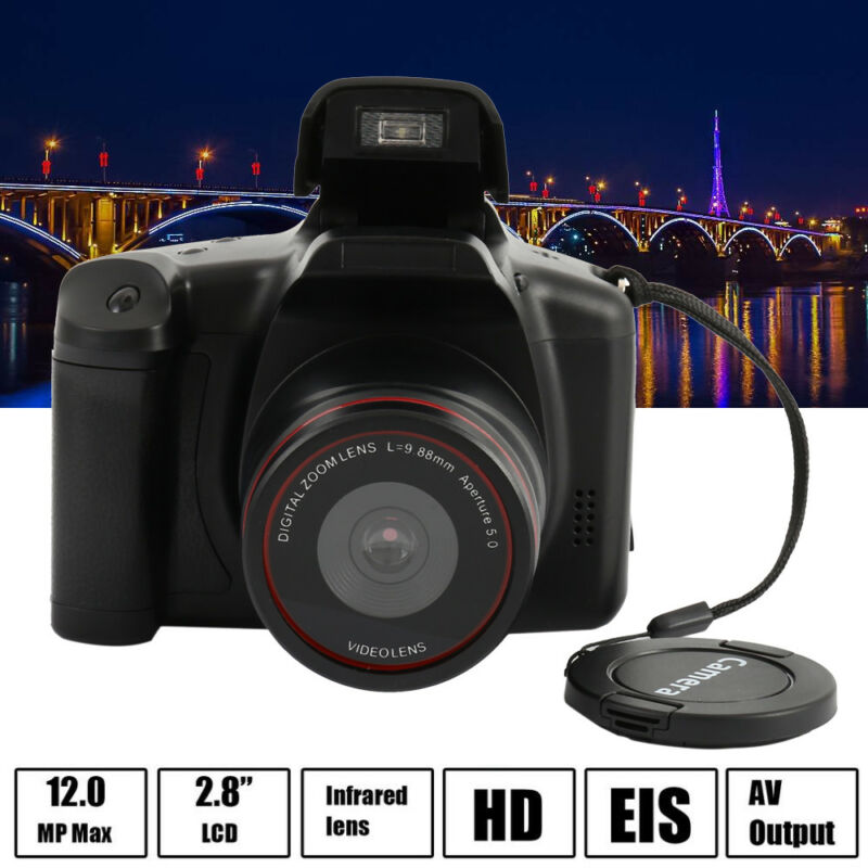3.0 inch Display 4X Zoom Full HD 24MP 1080P Digital Camera Video Camcorder DVR
