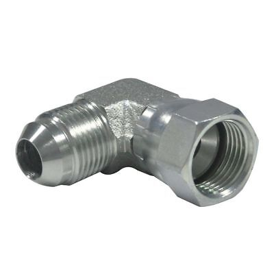 6500-06-06 38 Male Jic X 38 Female Jic 90 Degree Swivel Fitting