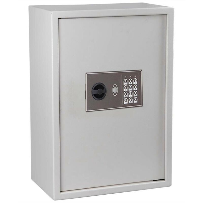 Electronic Digital Keyless Lock 245 Key Storage Safe Box Cabinet Wall Mount