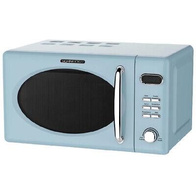 SCHNEIDER Mikrowelle Microwelle Mikrowellenherd Microwave MW720 LB blau 700 Watt (Mikrowelle Blau)