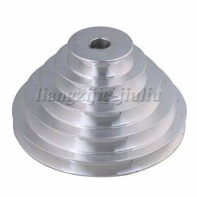 Aluminum Five Step Belt Pulley A Type V-belt For Motor Shaft Drive