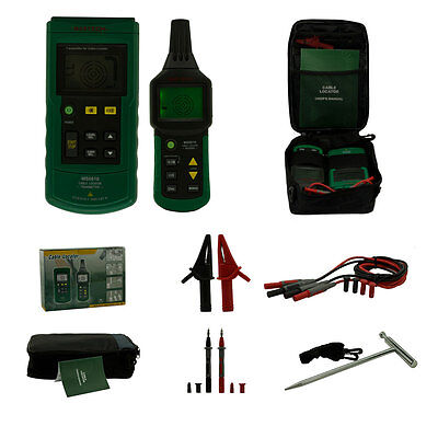 MASTECH MS6818 Advanced Underground Metal Pipe Wire Cable Locator Tracker Tester