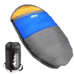 Outdoor Camping Sleeping Bag Winter Pebble Thermal Tent Hiking