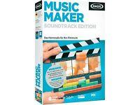 MAGIX Music Maker Soundtrack Edition PC Boxed
