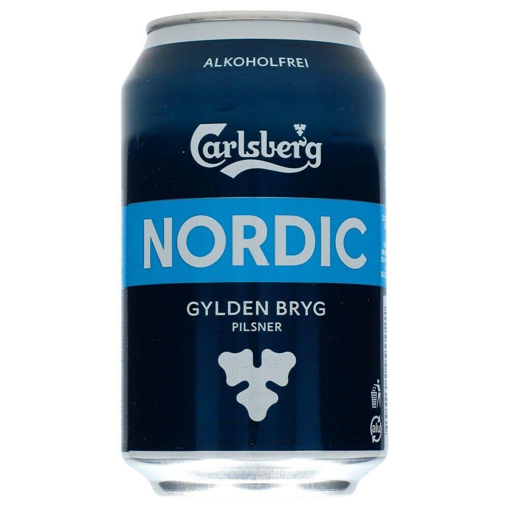 Carlsberg Nordic Alkoholfrei 24 x 0,33 ltr inkl. Pfand